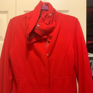 Calvin Klein Red Jacket Small - NEW